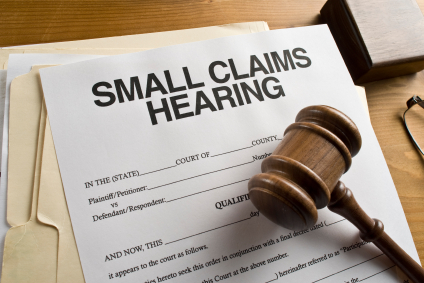 Small Claims Court Hearing